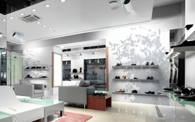 Retail Design mit digitalem Space Design