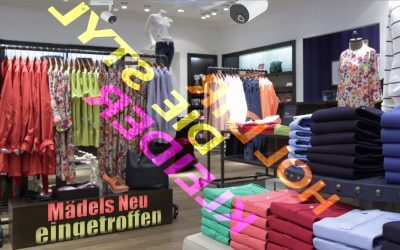 Retail Design mit digitalem Space Design