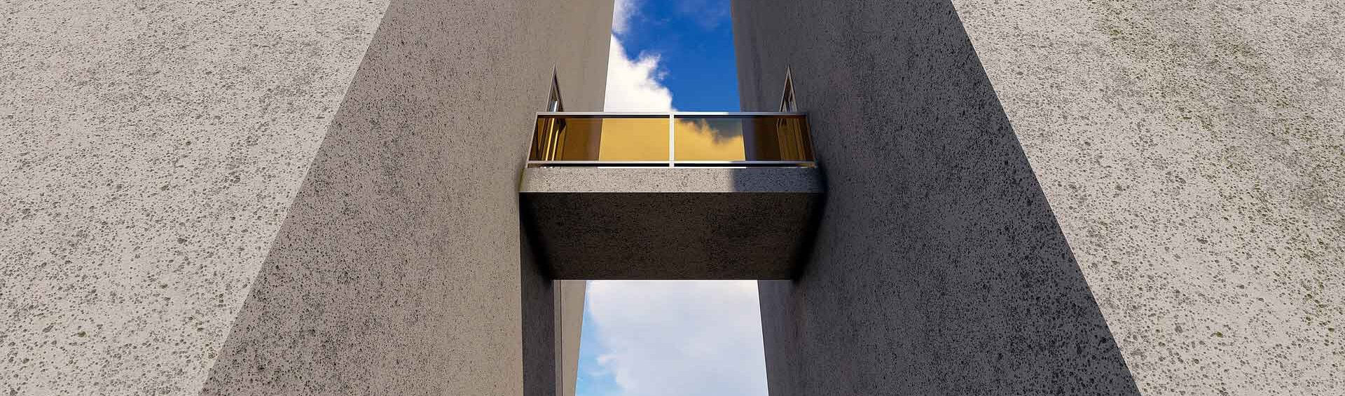 Architektonische Herausforderung