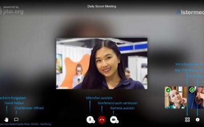 A-Confi Videokonferenz ❤️ Schnellstart
